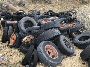 Tires at Barber Pool